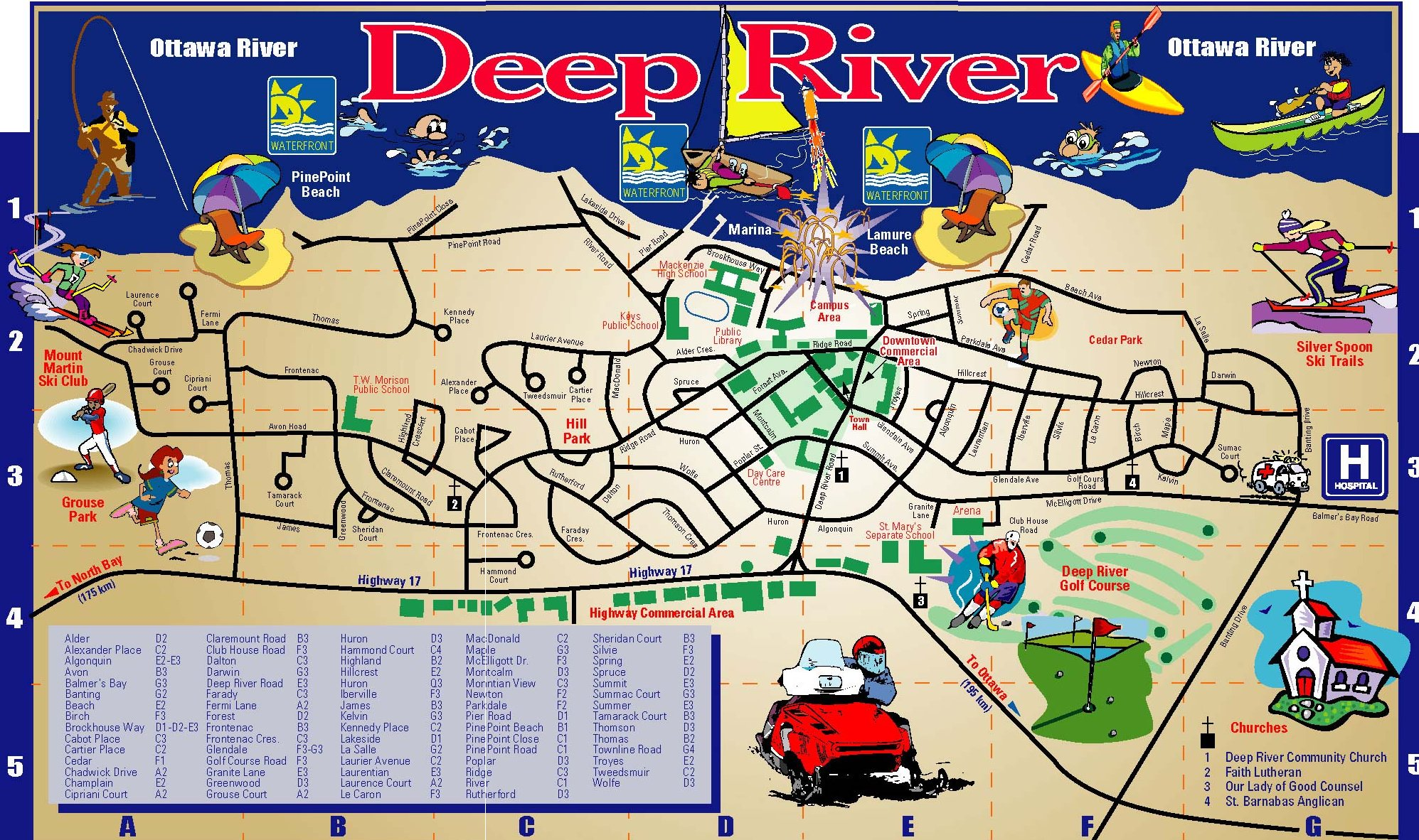 About Deep River Ontario Where Kerryhill Court Apartment Condominiums In Deep River 51